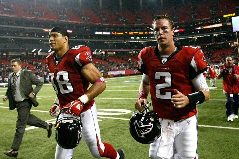 Tony Gonzalez and Matt Ryan.