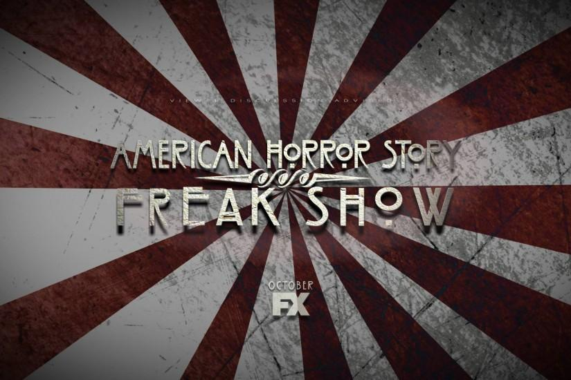American Horror Story Freak Show Title Card