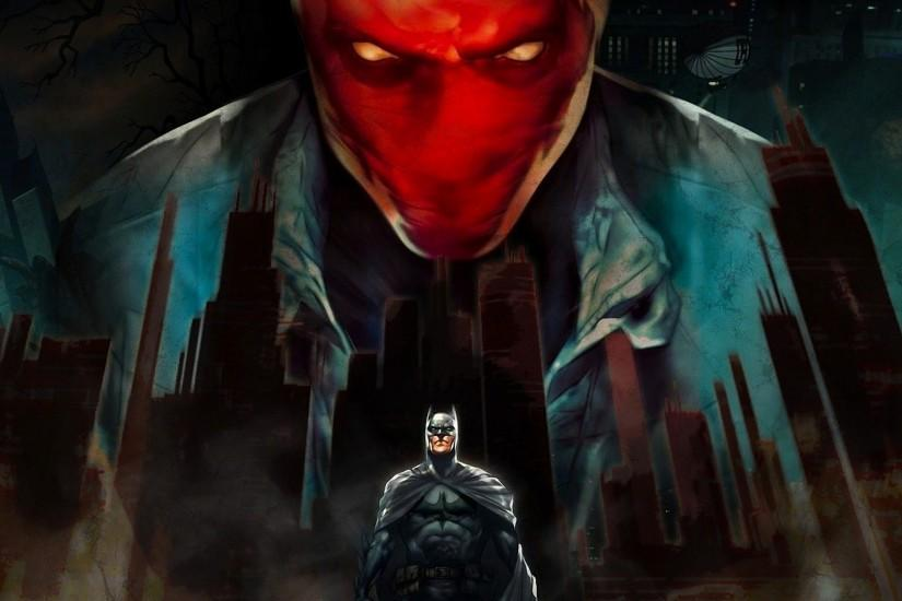 Batman, Red Hood Wallpaper HD