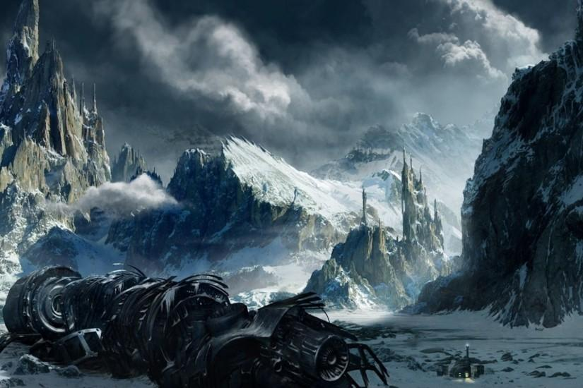 vertical fantasy landscape wallpaper 1920x1080 for pc