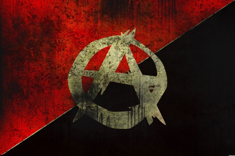 Anime Anarchy HD Wallpaper WallpaperFX