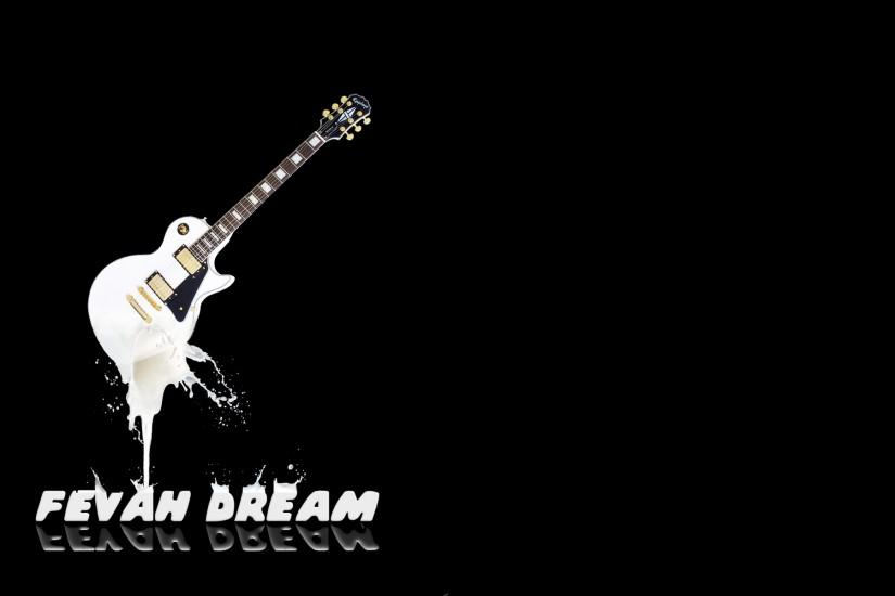 ... Fevah Dream Milking the Guitar Background by Merristuog