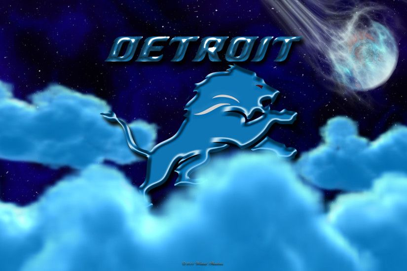 ... x 1200. Detroit Lions Above The Clouds wallpaper ...