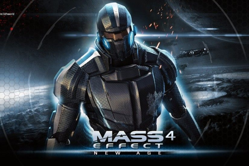 Preview wallpaper mass effect, andromeda, mass effect 4, bioware 1920x1080