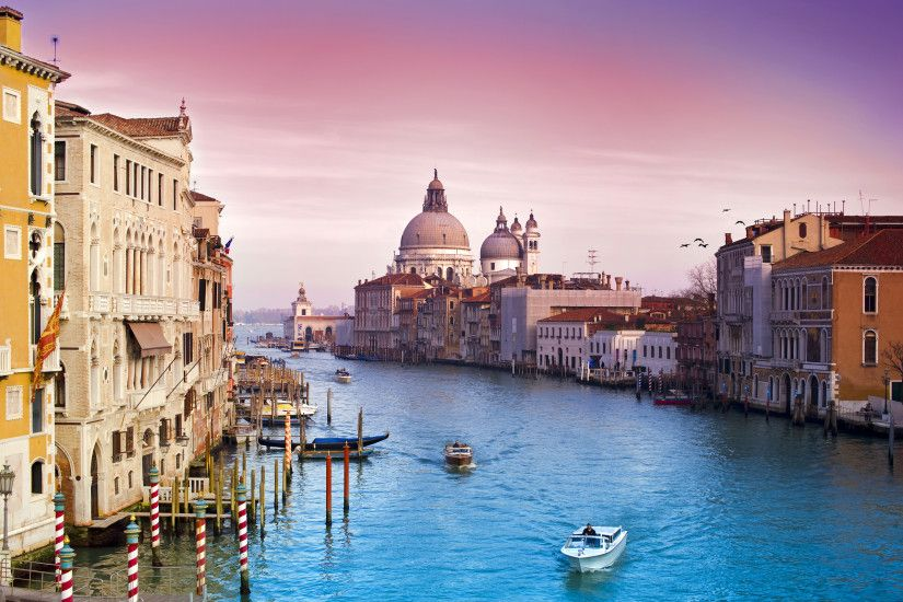 Venice, Italy, Grand Canal, Architecture, City