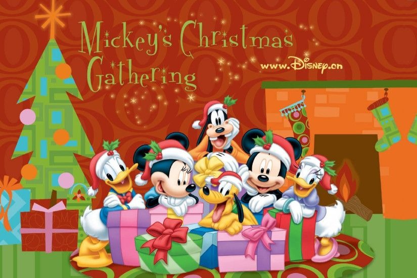 Christmas disney mickey minnie pluto goofy donald daisy.