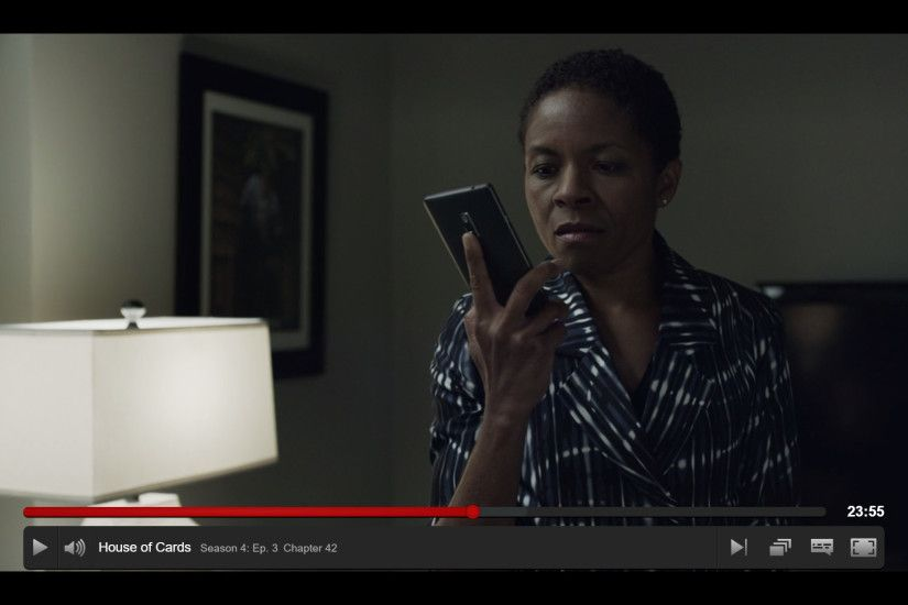 I've been watching season 4 of the Netflix series House of Cards and  Spotted a character using a OnePlus 2 as seen here: