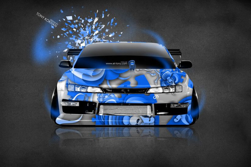 ... Nissan-Silvia-S14-JDM-Front-Domo-Kun-Toy- ...