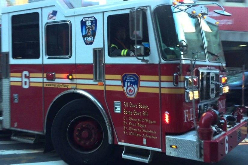 Engine 6 Fdny FDNY ENGINE RESPONDING ON BEEKMAN STREET IN FINANCIAL CENTER  AREA Maxresdefault OF MANHATTAN ...