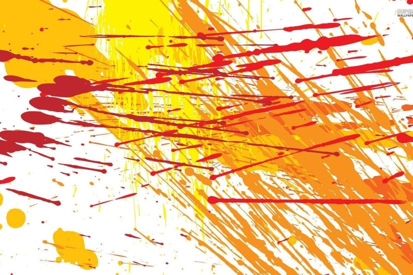 Paint splatter wallpaper - Abstract wallpapers - #