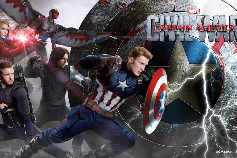 download captain america civil war wallpaper 1920x1080