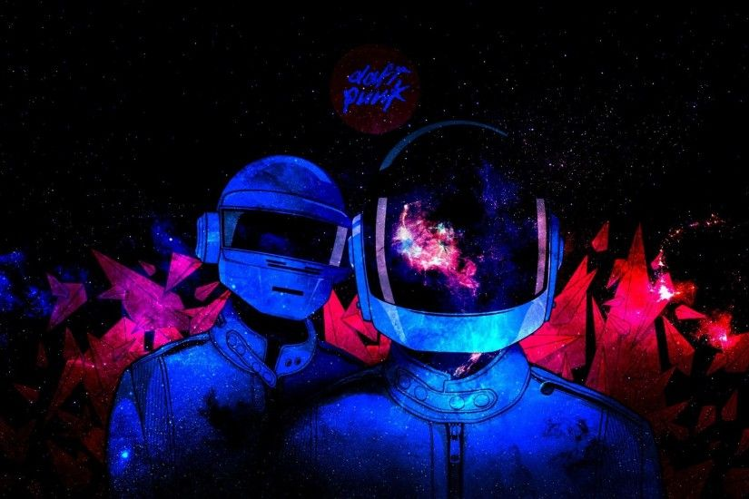 Download 1920x1200 Outer Space Daft Punk Electronic Wallpaper