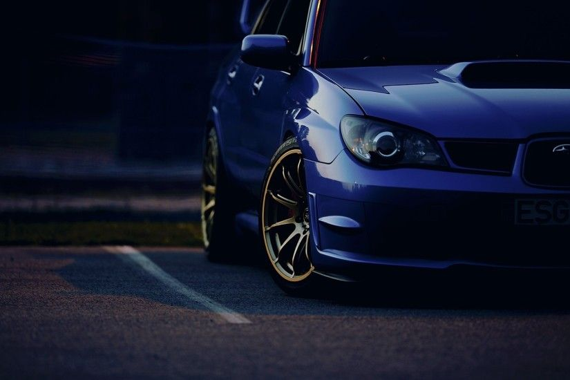 Subaru Wrx Sti wallpaper 1920x1080 #719