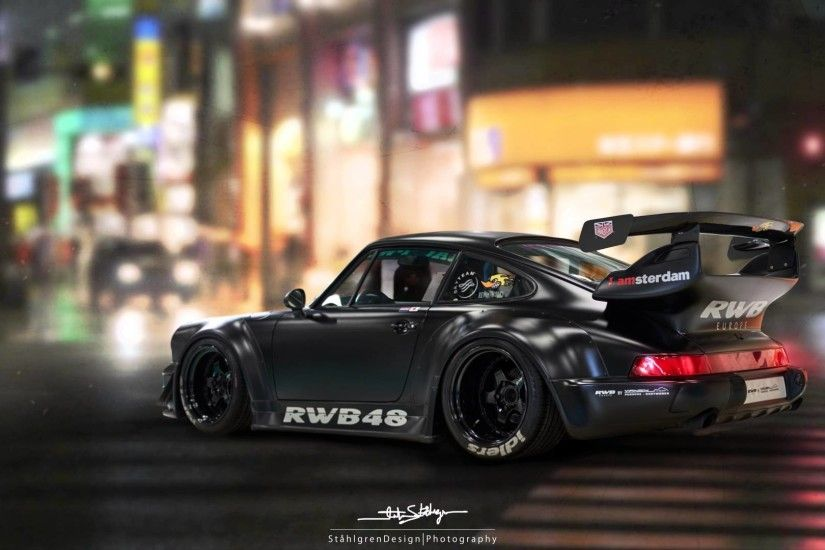 Making of RWB48 Porsche 4K
