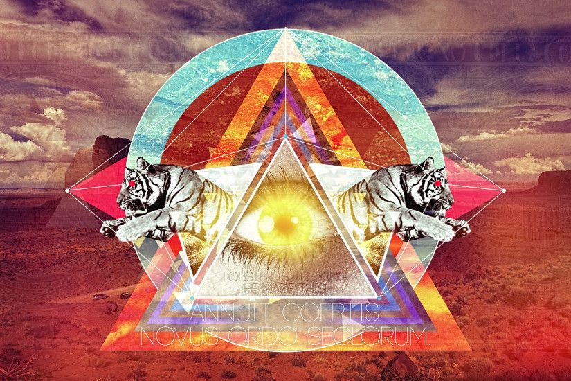 Trippy Illuminati Wallpapers Widescreen