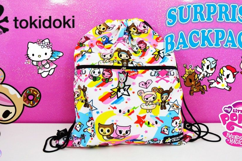 Tokidoki Surprise Backpack Unicorno Moofia MLP Hello Kitty - Surprise Egg  and Toy Collector SETC - YouTube