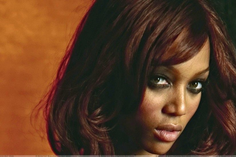 "You are viewing wallpaper titled ""Tyra Banks ..."