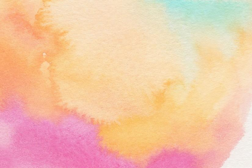 watercolor wallpaper | Something Peach