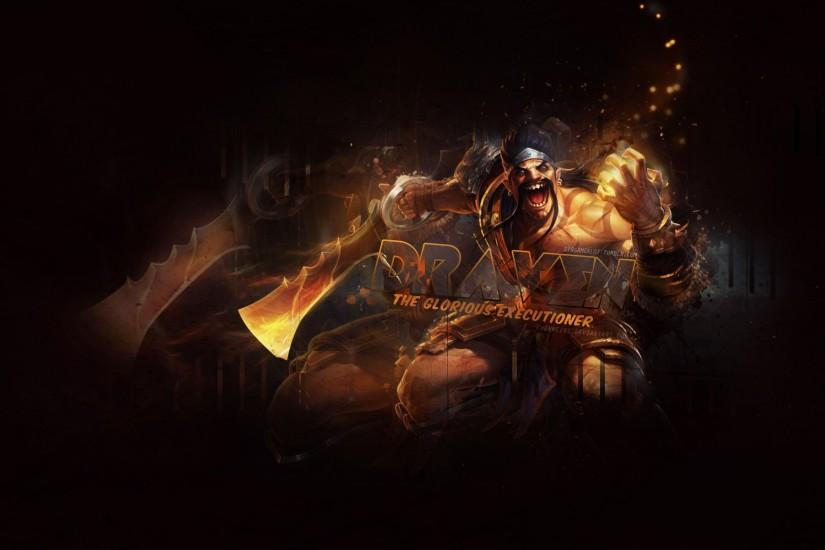 Gladiator Draven by ChenWei91 HD Wallpaper Fan Art Artwork League of  Legends lol