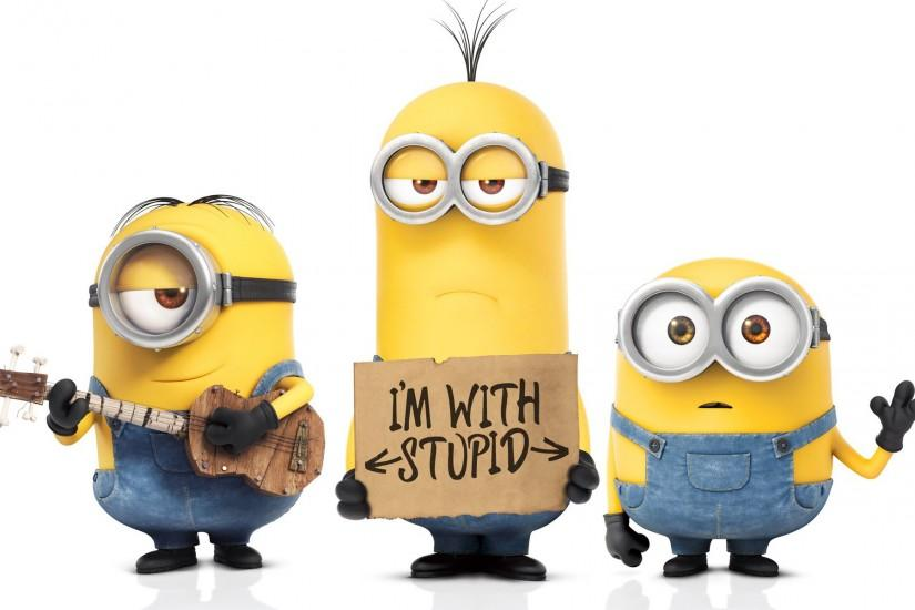 widescreen minions wallpaper 1920x1200 smartphone