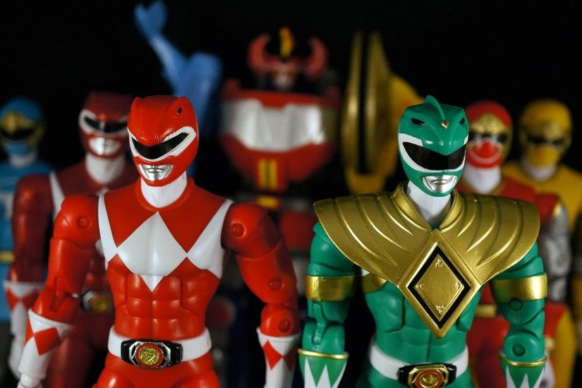 Mighty Morphin Power Rangers Legacy Collection Action Figures (Dino Storm  Megazord)