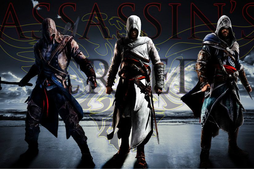 ... Assassin's Creed (Connor, Altair and Ezio) by AssaCenation
