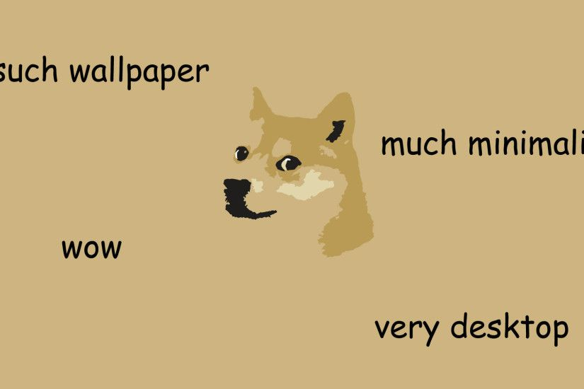 such wallpaper much minimalist wow : doge · Cool BackgroundsIphone ...