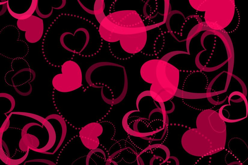 2160x1920 Pink Hearts Wallpapers - Wallpaper Zone