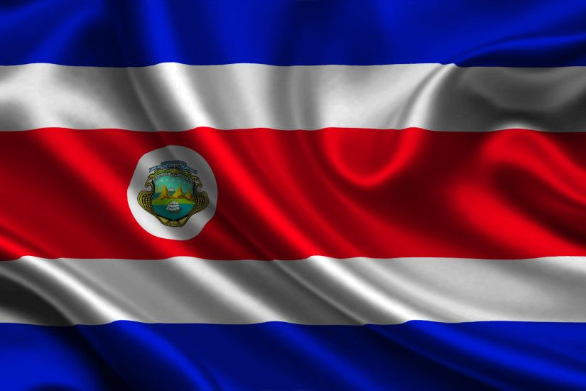 Images Costa-Rica Flag Stripes 1920x1080