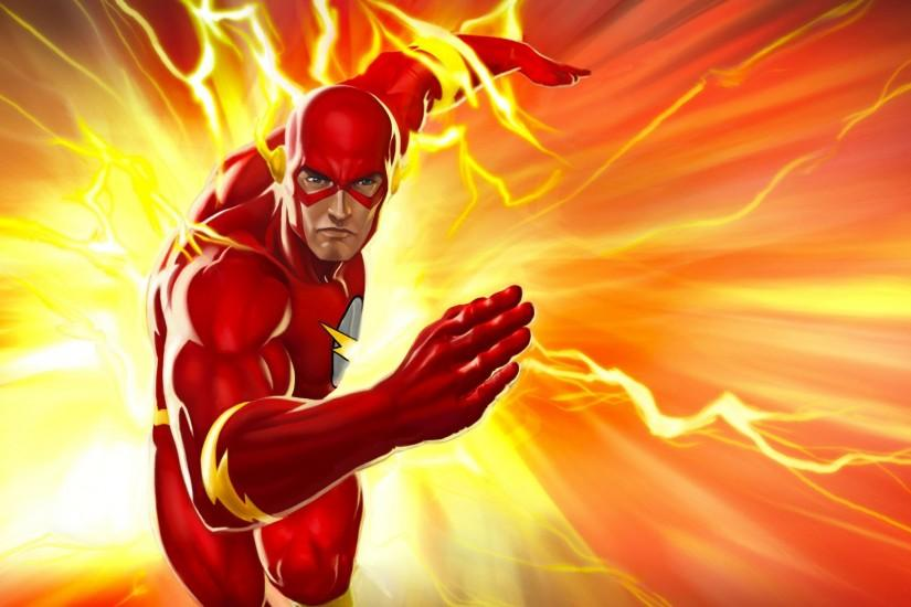 THE FLASH superhero drama action series mystery sci-fi dc-comics comic .