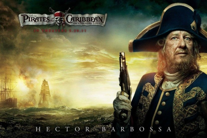 Geoffrey Rush in Pirates Of The Caribbean 4 Wallpapers | HD Wallpapers