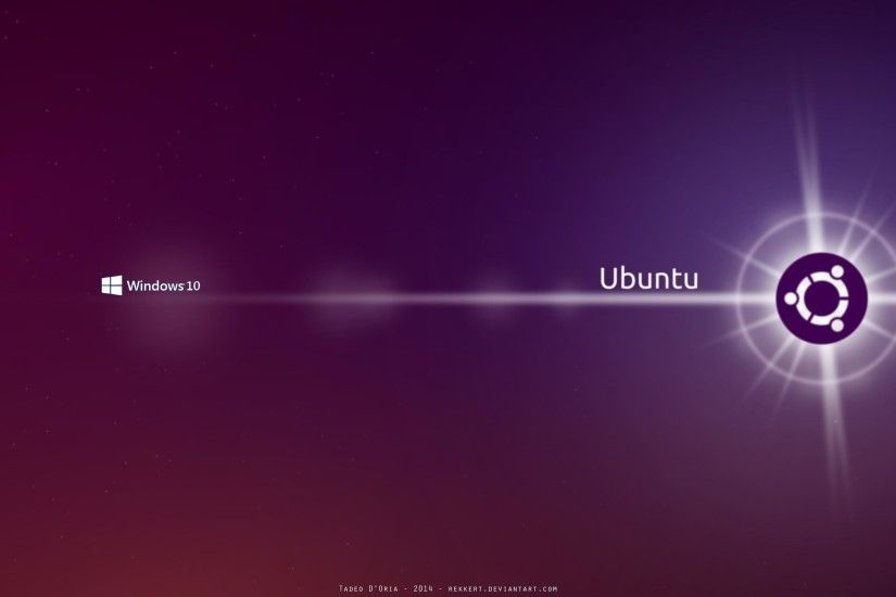 Linux Dual Boot Wallpaper ...