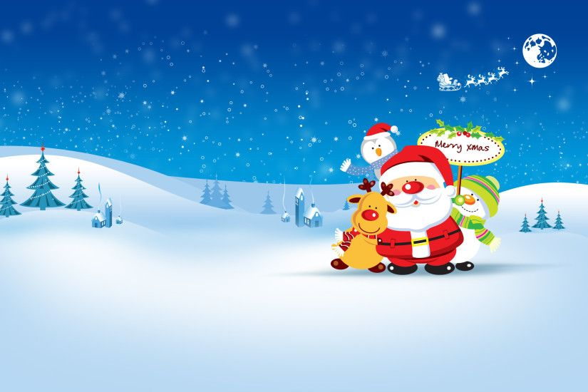 27 Beautiful Christmas And Winter Wallpapers