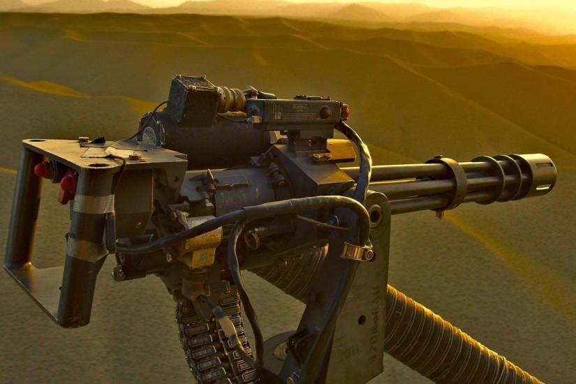 Heavy Machine Gun From Helicopter | HD Guns Wallpaper Free Download ...