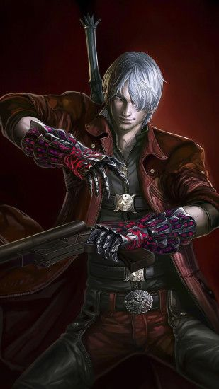 ... Dante - Devil May Cry Game mobile wallpaper