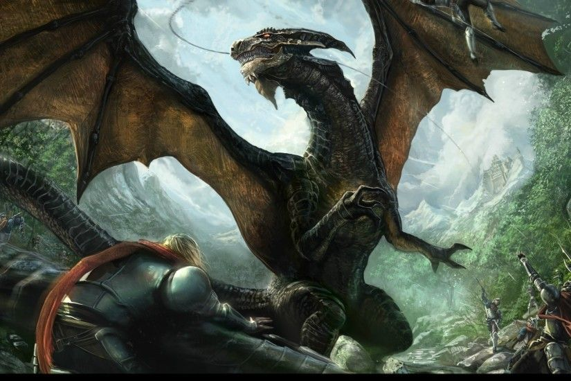 Dragon Desktop Background