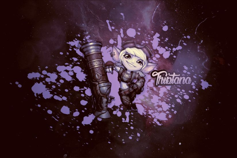 ... Tristana VU - League of Legends - Wallpaper by alicestuff