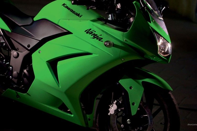 Kawasaki Ninja 250R Wallpaper HD 10883 - Pacify Mind