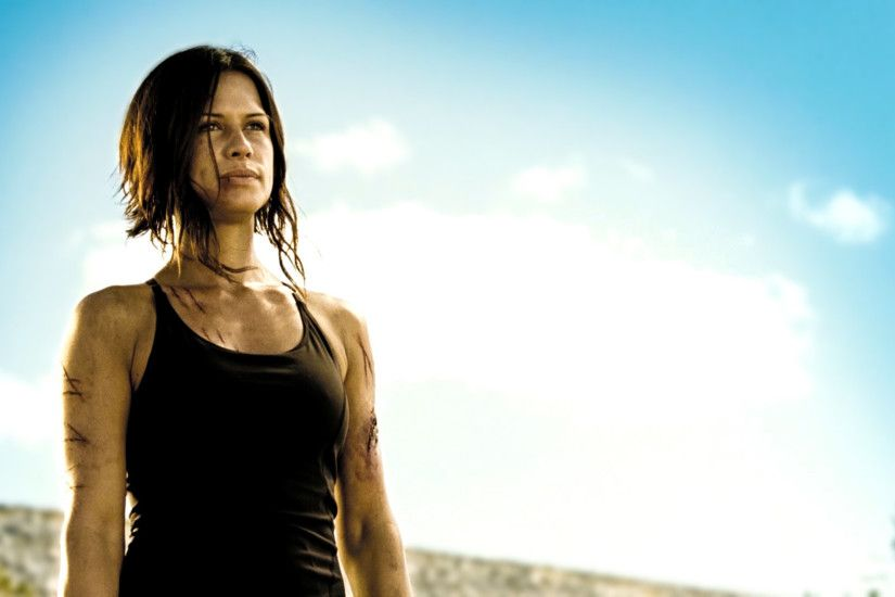 Rhona Mitra Doomsday Haircut