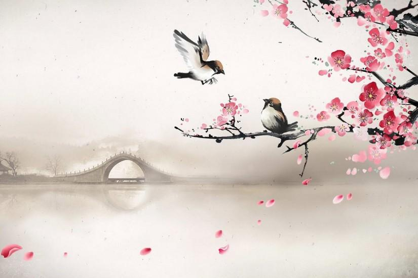 large cherry blossom wallpaper 1920x1080 for retina