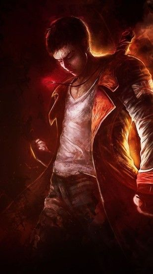 1440x2560 Wallpaper devil may cry 5, dante, art, dmc