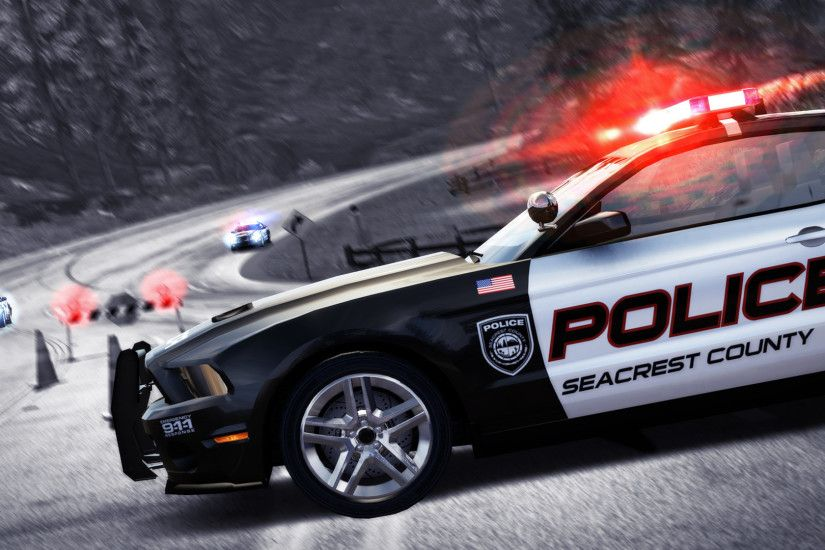 Speed - Hot Pursuit police car wallpaper - Game wallpapers - #13119 .