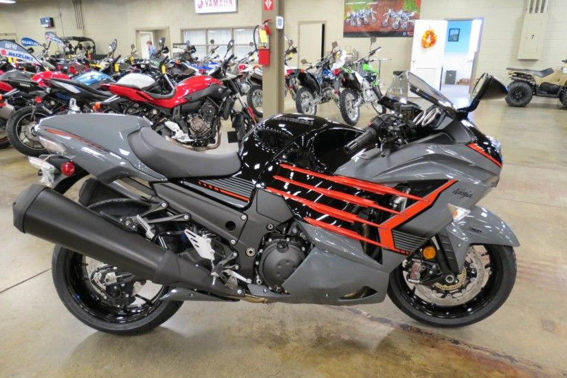2018 Kawasaki NINJA ZX-14R ABS SE in Romney, West Virginia