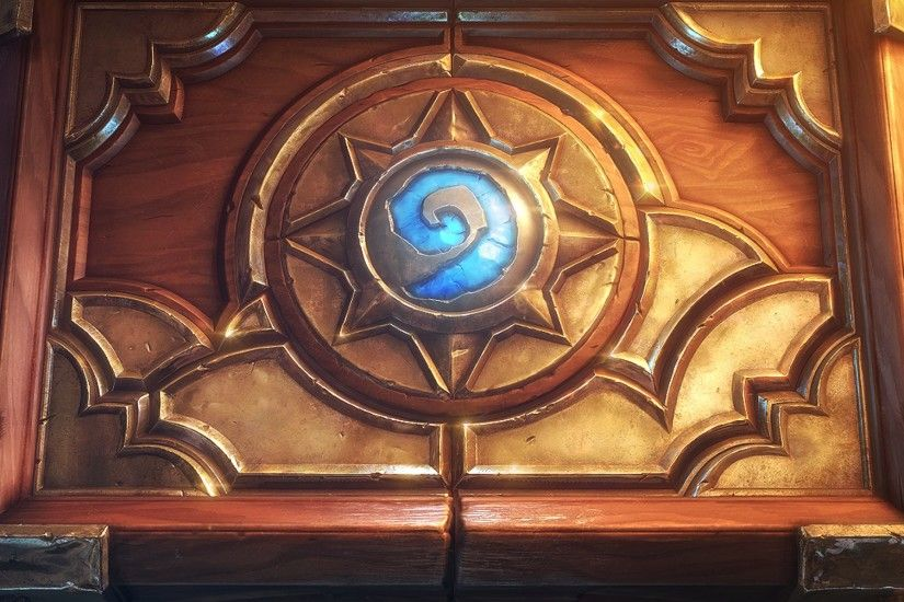 Preview wallpaper hearthstone, heroes of warcraft, box, sword, smoke,  pattern 2048x2048
