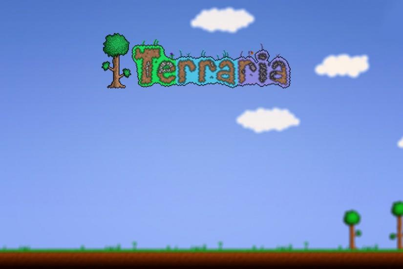 download free terraria background 1920x1080 hd