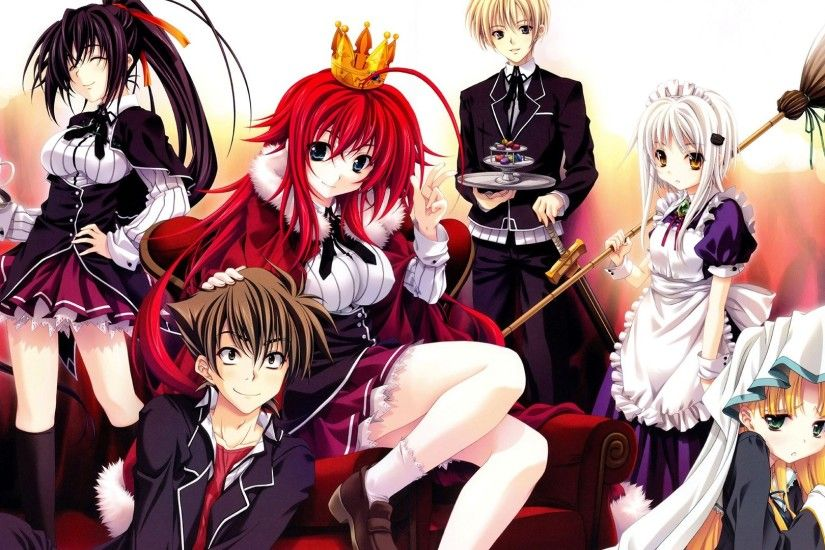 High School DxD Rias Gremory · HD Wallpaper | Background ID:642257