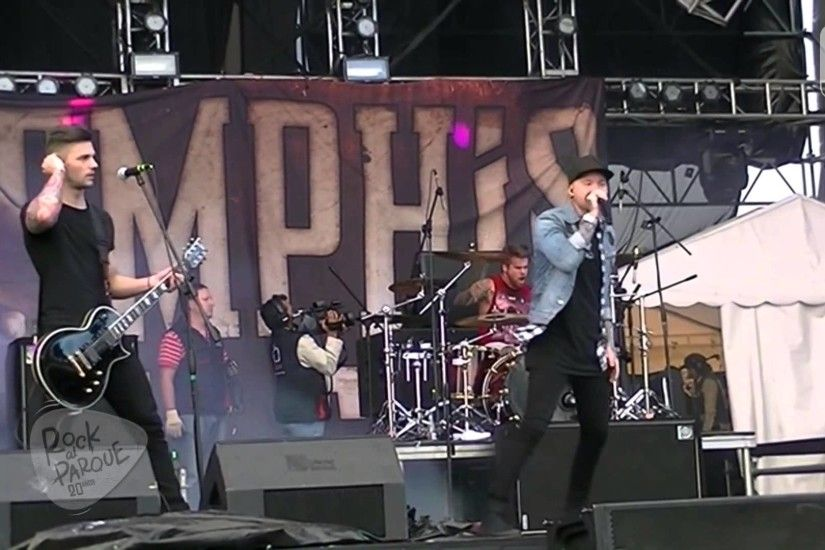 Presentacion Memphis May Fire Rock Al Parque 2014