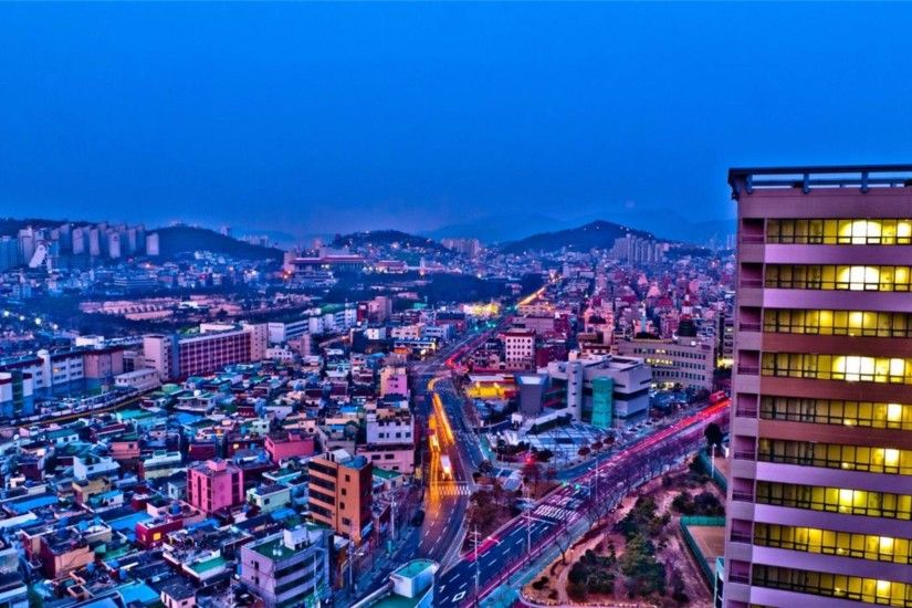 Trending Busan South Korea 4K Wallpaper