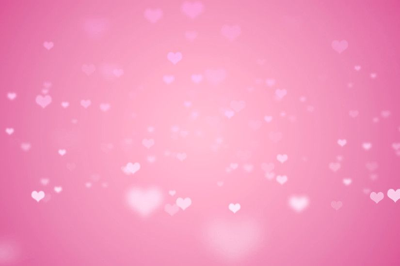 Floating light pink hearts fade in and out against a pink backdrop. Looping  motion background. Motion Background - VideoBlocks