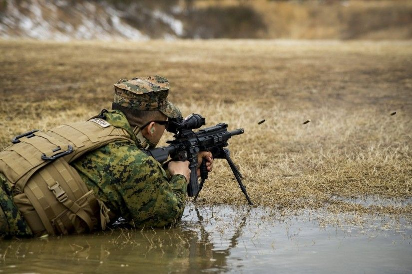 united states marine corps m27 automatic rifle